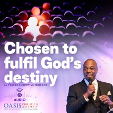 Chosen To Fulfil God's Destiny (Audio)