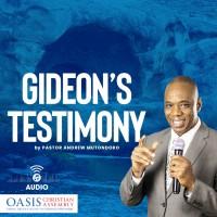 GIDEON'S TESTIMONY (AUDIO)