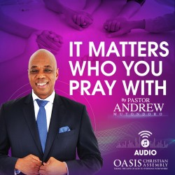 It matters who you pray with