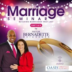 Marriage Seminar Johannesburg 2019 Part 1 of 4 (audio)