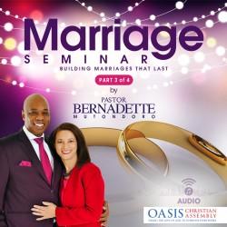 Marriage Seminar Johannesburg 2019 Part 3 of 4 (audio)