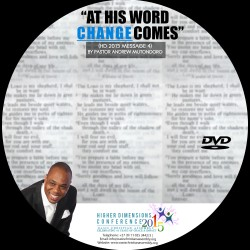 At His Word Change Comes Audio