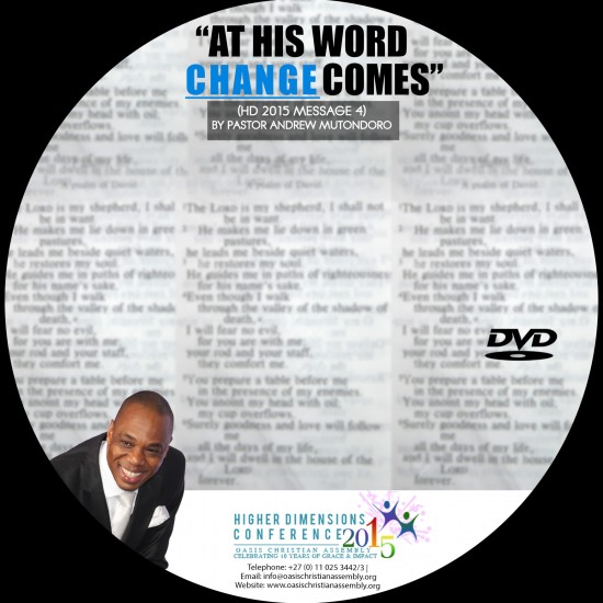 At His Word Change Comes Video