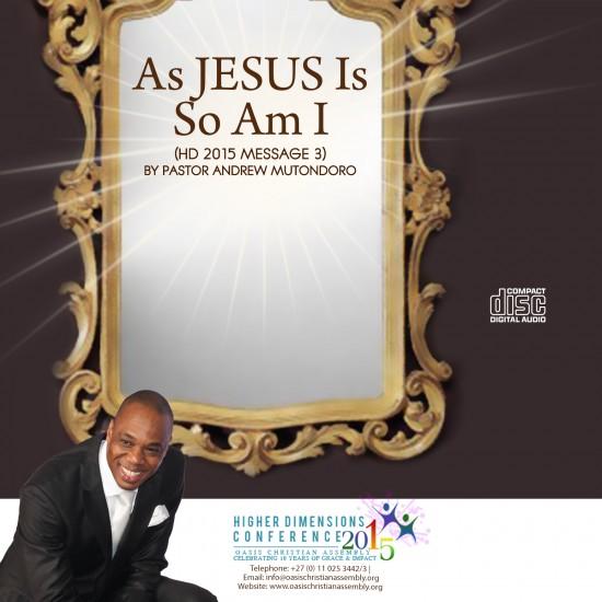 As Jesus Is So Am I video