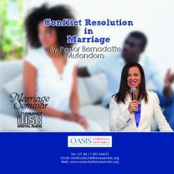 Conflict Resolution in marriage (Audio)