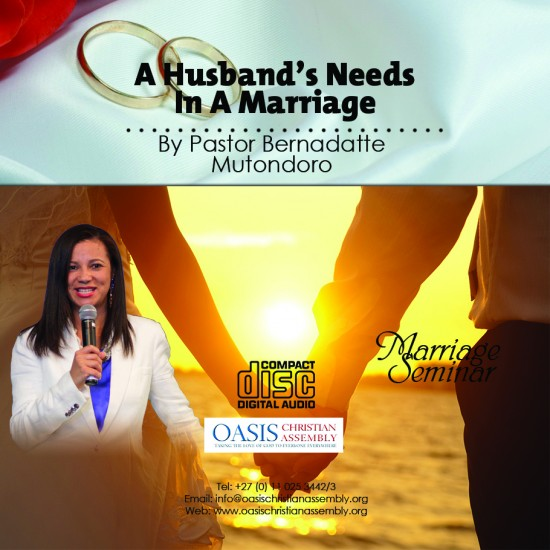 A Husband's Needs In A Marriage (Audio)