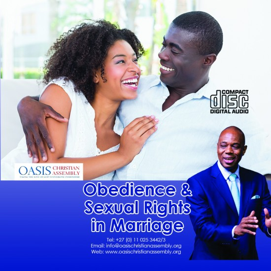 Obedience and Sexual Rights In Marriage (Audio)