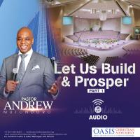 Let Us Build And Prosper Part 1 (Audio)