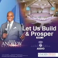 Let Us Build And Prosper Part 3 (Audio)
