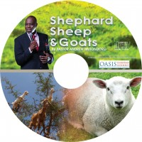 Sheep, shepherd and goats (Audio)